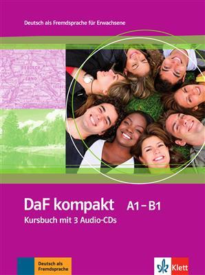 خرید کتاب آلمانی DaF kompakt A1 - B1