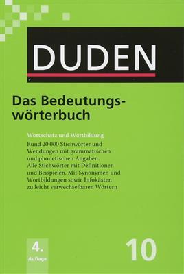 خرید کتاب آلمانی Duden das bedeutungs-worterbuch band 10