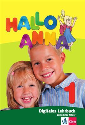 خرید کتاب آلمانی Hallo Anna 1 + Arbeitsbuch