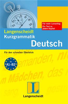 خرید کتاب آلمانی Langenscheidts Kurzgrammatik Deutsch