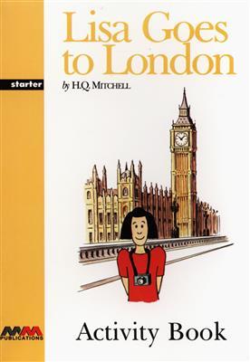 خرید کتاب آلمانی Lisa Goes to London
