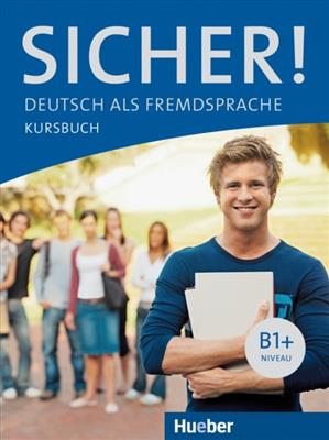 خرید کتاب آلمانی Sicher ! B1+ Kursbuch + Arbeitsbuch + DVD