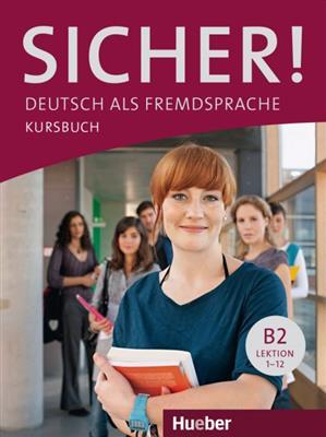 خرید کتاب آلمانی Sicher ! B2 + Kursbuch + Arbeitsbuch + DVD