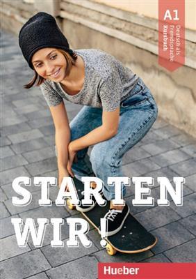 خرید کتاب آلمانی Starten wir! A1: kursbuch und Arbeitsbuch mit CD