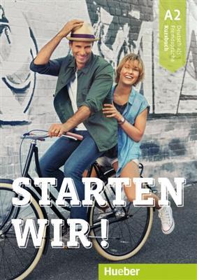 خرید کتاب آلمانی Starten wir! A2: kursbuch und Arbeitsbuch mit CD