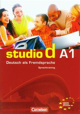 خرید کتاب آلمانی Studio d: Sprachtraining A1 (SB+WB+CD+DVD)