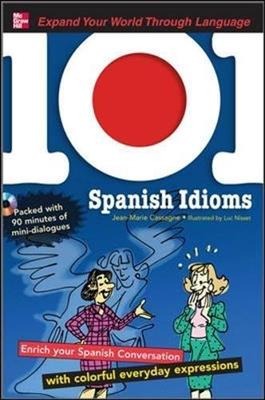 خرید کتاب اسپانیایی 101 Spanish Idioms