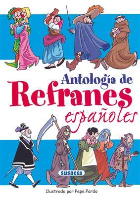 خرید کتاب اسپانیایی ANTOLOGIA DE REFRANES ESPANOLES (EN PAPEL)