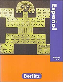 خرید کتاب اسپانیایی Berlitz Espanol Niveles 1-2 Edition