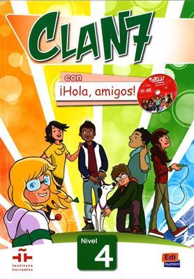 خرید کتاب اسپانیایی Clan 7 con ¡Hola