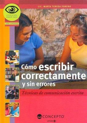 خرید کتاب اسپانیایی Como Escribir Correctamente y Sin Errores