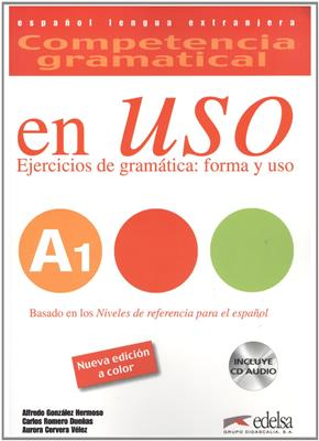 خرید کتاب اسپانیایی Competencia gramatical en USO A1+CD