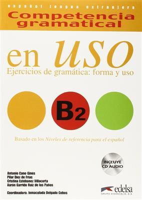 خرید کتاب اسپانیایی Competencia gramatical en Uso B2+CD