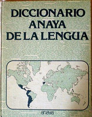 خرید کتاب اسپانیایی Diccionario Anaya de la lengua