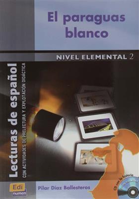 خرید کتاب اسپانیایی El paraguas blanco + 1CD