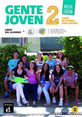 خرید کتاب اسپانیایی Gente joven 2 Nueva edicion - Libro del alumno