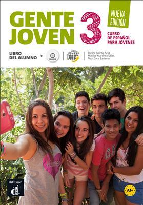 خرید کتاب اسپانیایی Gente joven 3 Nueva edicion - Libro del alumno