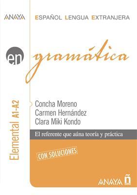 خرید کتاب اسپانیایی Gramatica Anaya. Nivel elemental A1-A2