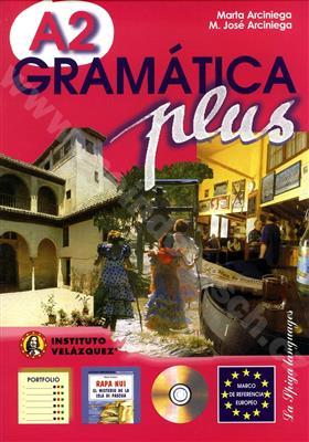 خرید کتاب اسپانیایی Gramatica plus - A2 + 1CD