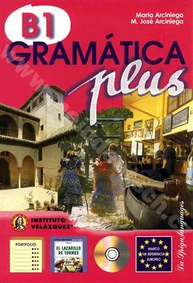 خرید کتاب اسپانیایی Gramatica plus - B1 + 1CD