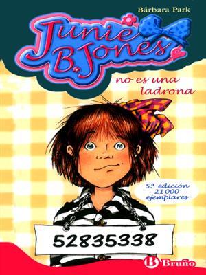 خرید کتاب اسپانیایی Junie B. Jones no es una ladrona