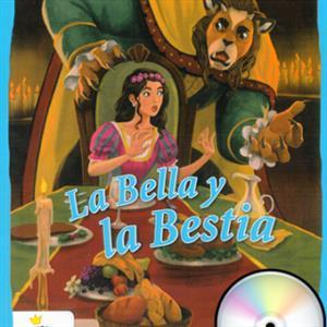 خرید کتاب اسپانیایی La Bella y la Bestia + 1CD