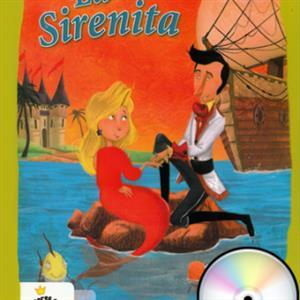 خرید کتاب اسپانیایی La Sirenita + 1CD