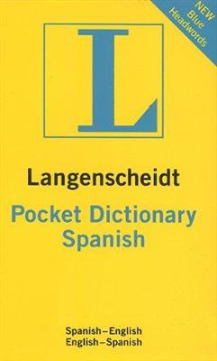خرید کتاب اسپانیایی Langenscheidt pocket dictionary spanisch