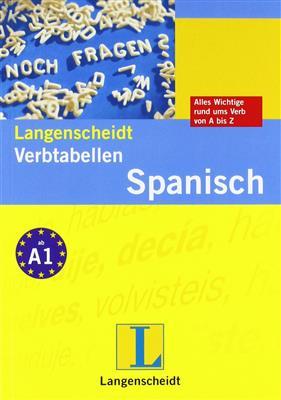 خرید کتاب اسپانیایی Langenscheidt verbtabellen spanisch