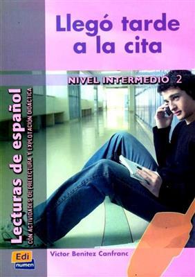 خرید کتاب اسپانیایی Llego tarde a la cita: INTERMEDIO 2