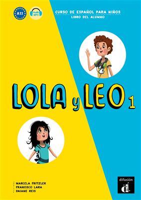 خرید کتاب اسپانیایی Lola y Leo 1