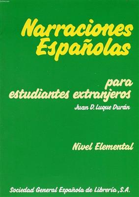 خرید کتاب اسپانیایی Narraciones Espanolas - Elemental