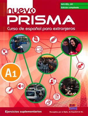 خرید کتاب اسپانیایی Nuevo Prisma A1-Libro de ejercicios Suplementarios