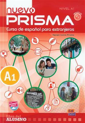 خرید کتاب اسپانیایی Nuevo Prisma A1 (SB+WB+CD)