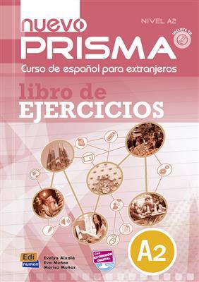 خرید کتاب اسپانیایی Nuevo Prisma A2-Libro de ejercicios Suplementarios