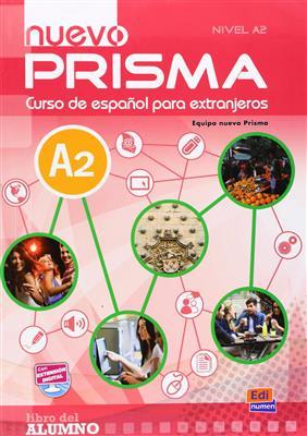 خرید کتاب اسپانیایی Nuevo Prisma A2 (SB+WB+CD)