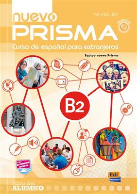 خرید کتاب اسپانیایی Nuevo Prisma B2 (SB+WB+CD)