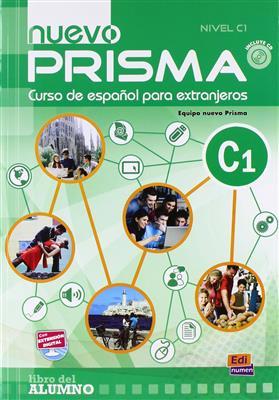 خرید کتاب اسپانیایی Nuevo Prisma C1 (SB+WB+CD)