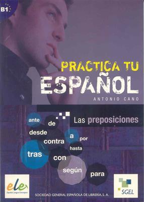 خرید کتاب اسپانیایی Practica Tu Espanol las preposiciones