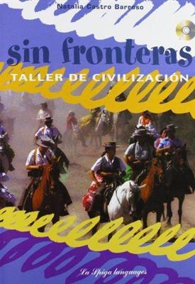خرید کتاب اسپانیایی Sin Fronteras + CD