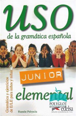خرید کتاب اسپانیایی USO JUNIOR. NIVEL ELEMENTAL. LIBRO DEL ALUMNO