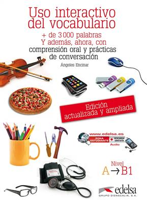 خرید کتاب اسپانیایی USO interactivo del vocabulario A1-B1
