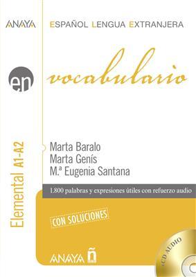 خرید کتاب اسپانیایی Vocabulario. NIvel elemental A1-A2