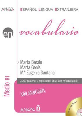 خرید کتاب اسپانیایی Vocabulario. Nivel Medio B1