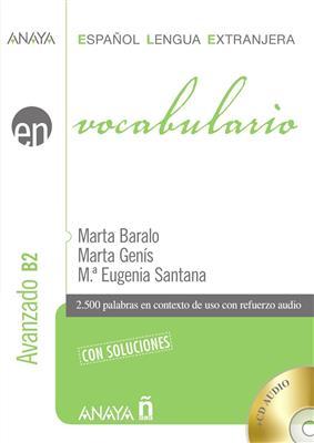 خرید کتاب اسپانیایی Vocabulario. Nivel avanzado B2