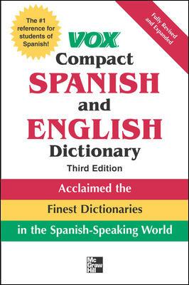 خرید کتاب اسپانیایی Vox Compact Spanish and English Dictionary 3rd