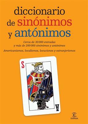خرید کتاب اسپانیایی diccionario de sinonimos y antonimo