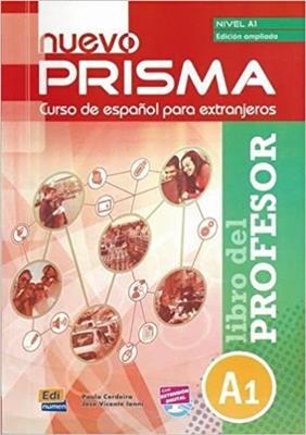 خرید کتاب اسپانیایی nuevo Prisma A1 - Libro del profesor - Ed. ampliada