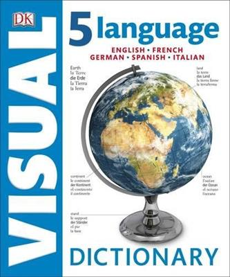 خرید کتاب انگليسی 5 Language Visual Dictionary