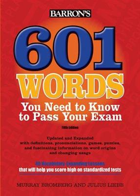خرید کتاب انگليسی 601Words You Need to Know to Pass Your Exam 5th